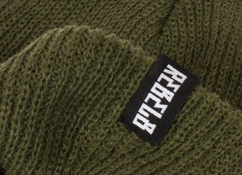 Rebel8 In Us We Trust Beanie - Army