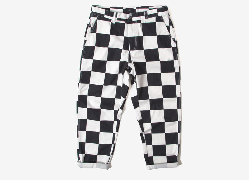 Obey Hardwork Labor Pant Trousers - Checker