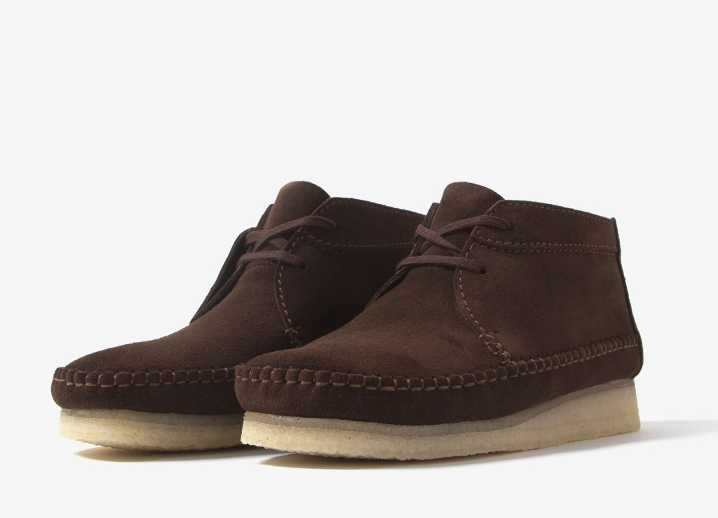 Clarks Originals Weaver Boot - Brown Suede