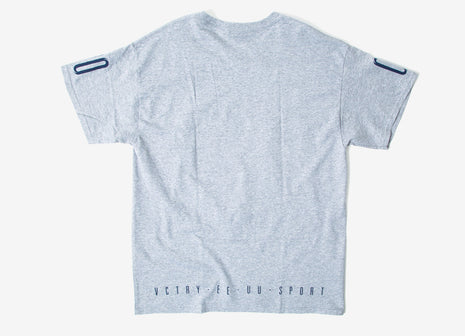 10Deep End Line T Shirt - Heather Grey