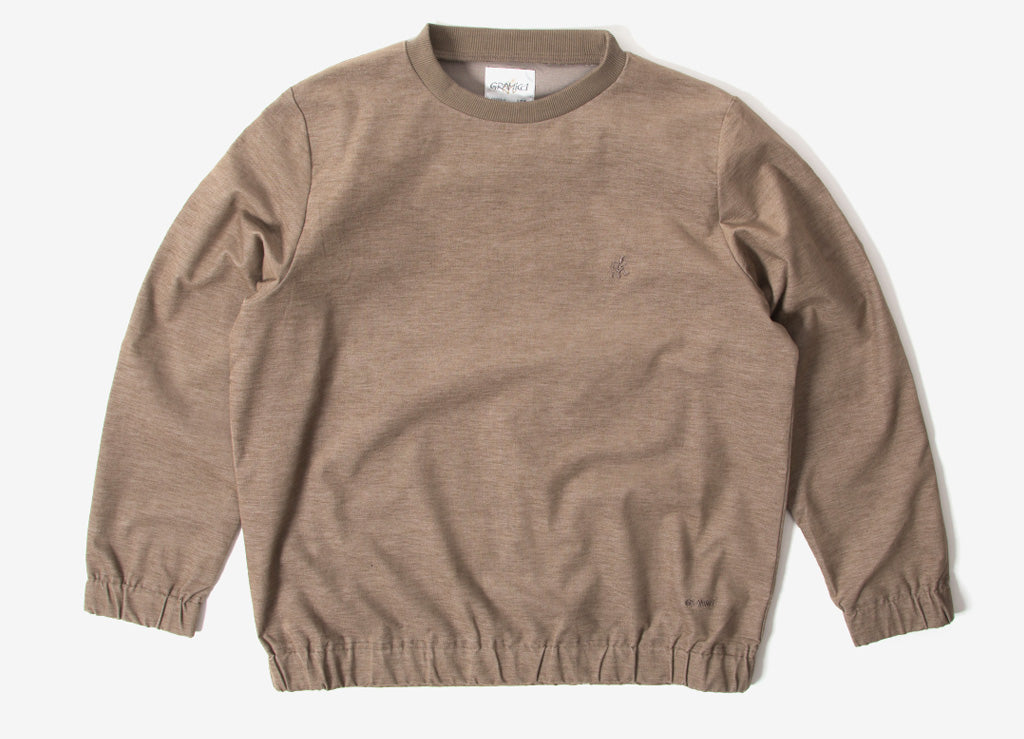 Gramicci Japan American Velveteen Sweatshirt - Beige Heather