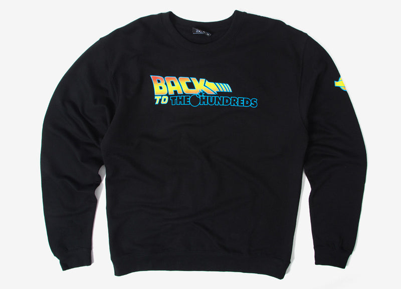 The Hundreds Back To The Hundreds Crewneck Sweatshirt - Black