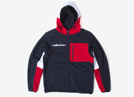 The Hundreds Camp Anorak Jacket - Navy