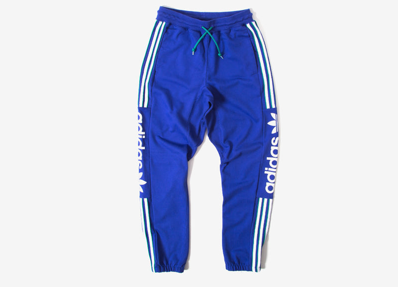 adidas Originals QRZ Sweatpants - Blue/White/Green