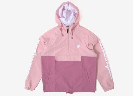 The Hundreds Dell 2 Anorak Jacket - Mauve