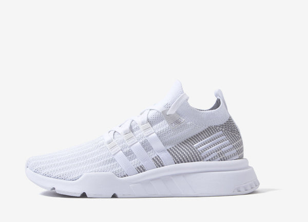 finest selection ff099 4b77a adidas Originals EQT Support Mid ADV Primeknit Shoes - Ftwr White/Ftwr  White/Grey One