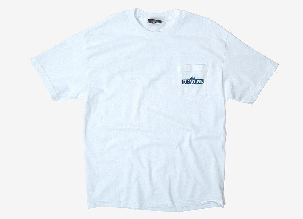 The Hundreds Streets Pocket T Shirt - White