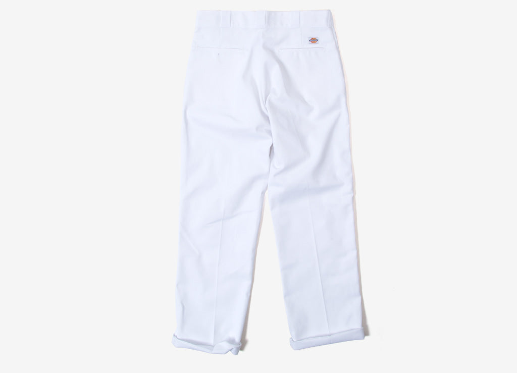 Dickies 874 Straight Leg Work Trousers - White