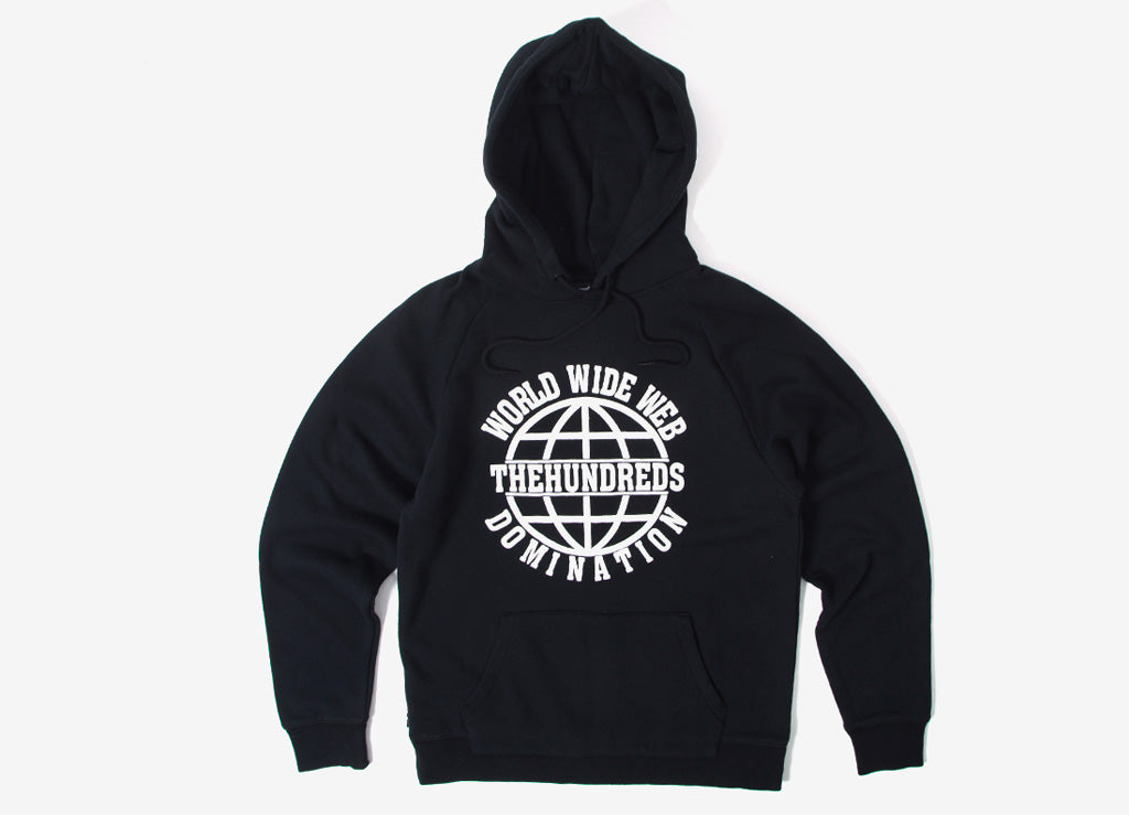 The Hundreds Canyon Pullover Hoody - Black