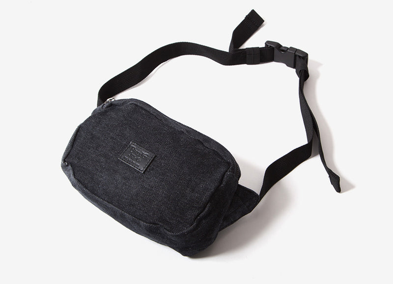 Brixton Stewart Hip Pack - Black/Acid Wash