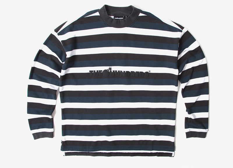The Hundreds Park Long Sleeve T Shirt - Black