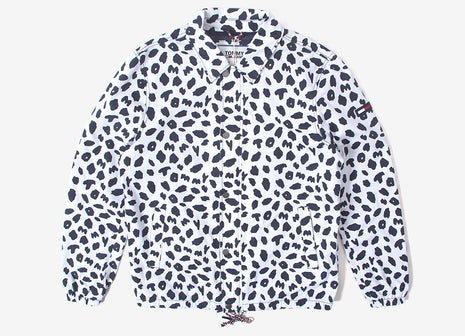 Tommy Jeans Printed Coach Jacket - Animal Print