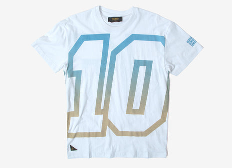 10Deep The 10 Car T Shirt - White