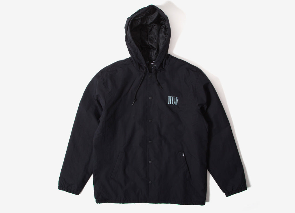 Huf Serif Quilted Coach Jacket Huf Hoodies The Chimp Store