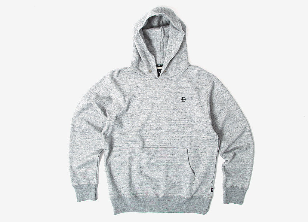 HUF x Nagel Television Pullover Hoody - Grey Heather