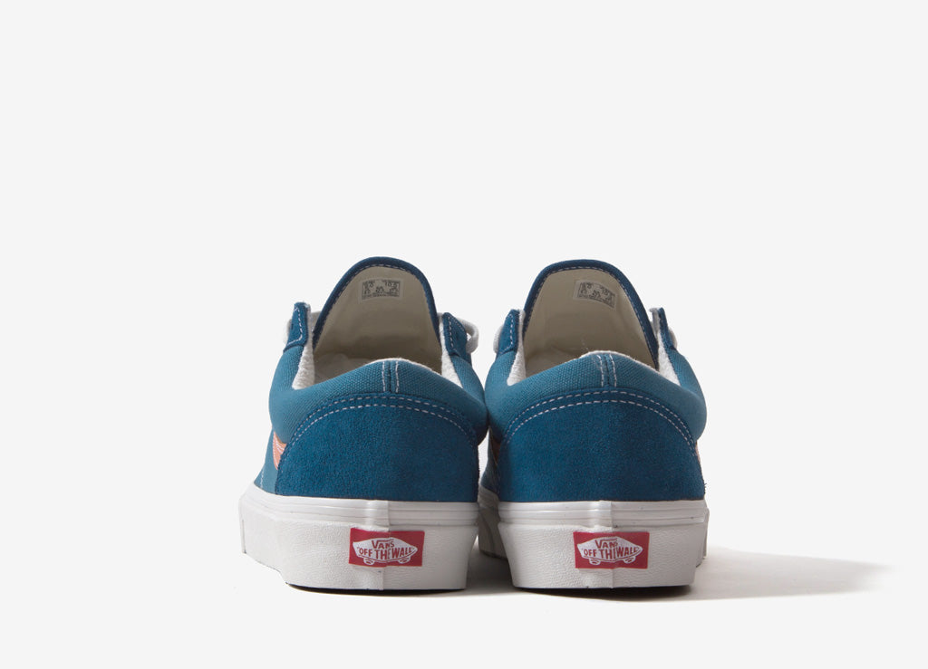 Vans Style 36 DX 'Anaheim Factory' Shoes - Sailor Blue/Blanc De Blanc