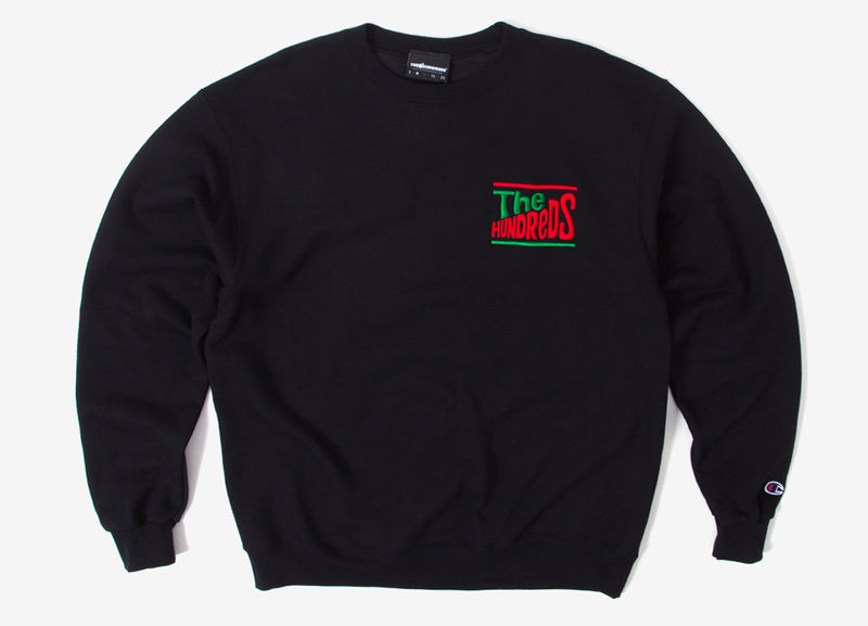 The Hundreds Dolly Crewneck Sweatshirt - Black