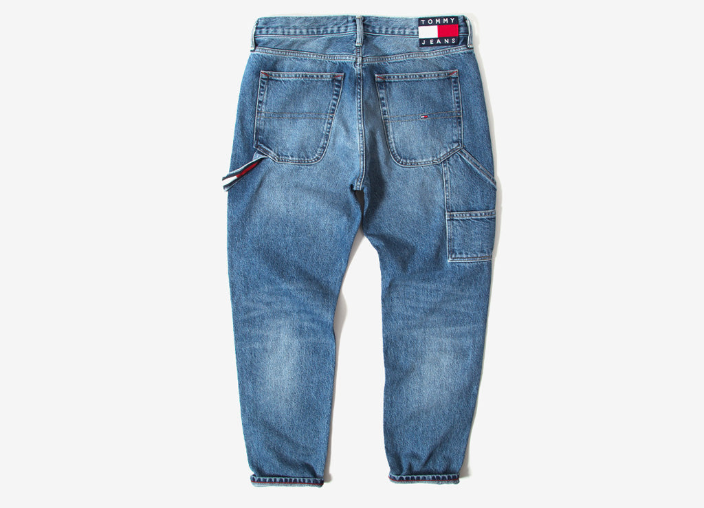 Tommy Jeans Tapered Carpenter Jeans - Park Light Blue