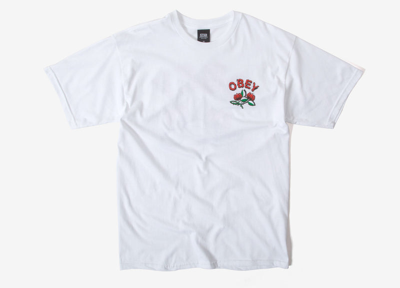 Obey Briar T Shirt - White