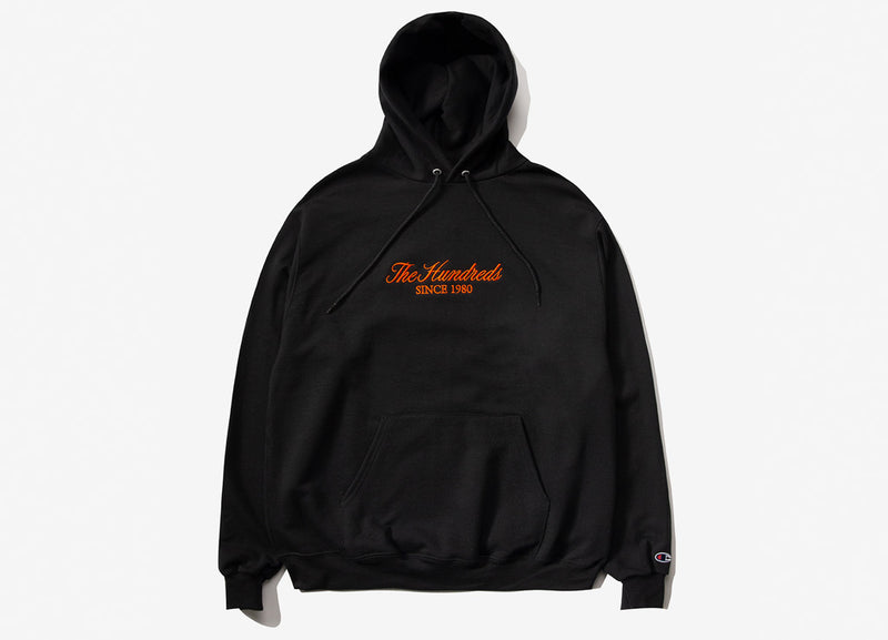 The Hundreds Rich Embroidery Pullover Hoody - Black