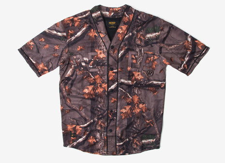 10Deep Alta Vista Baseball Shirt - Hunting Camo