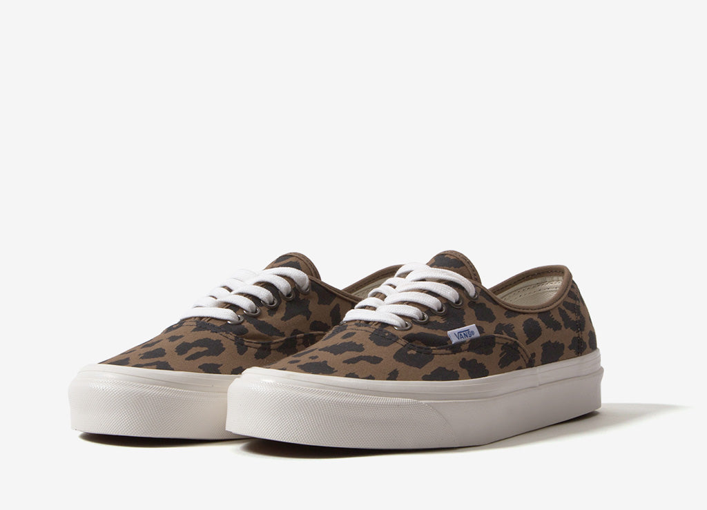 Vans Authentic 44 DX 'Anaheim Factory' Shoes - OG Leopard
