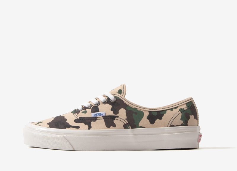 Vans Authentic 44 DX 'Anaheim Factory' Shoes - OG Camo