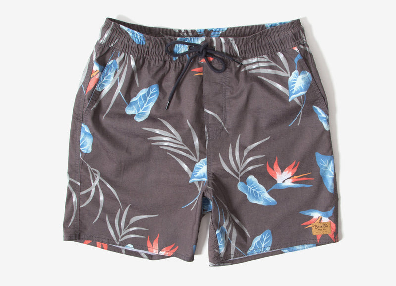 Brixton Havana Trunk Shorts - Black/Blue