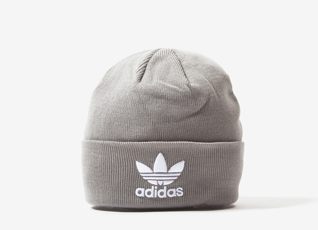 adidas Originals Trefoil Beanie - Grey
