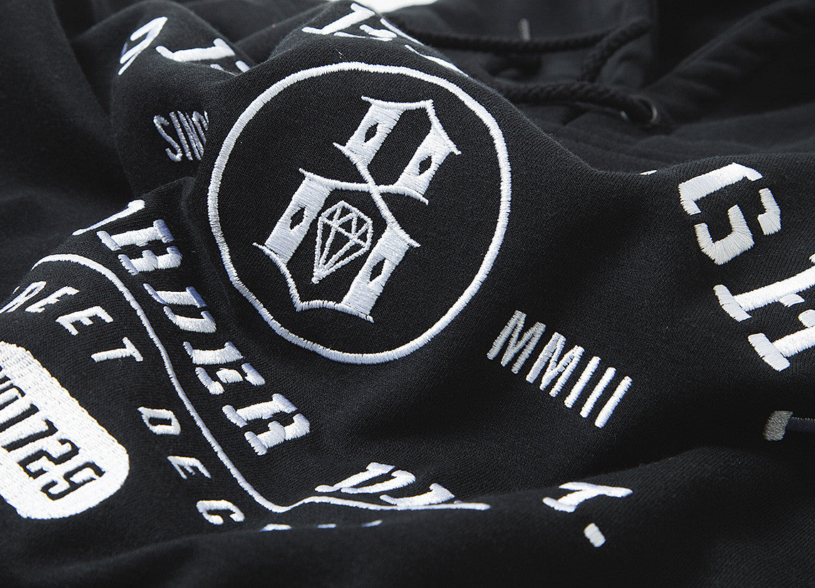 Rebel8 Property Of Pullover Hoody - Black