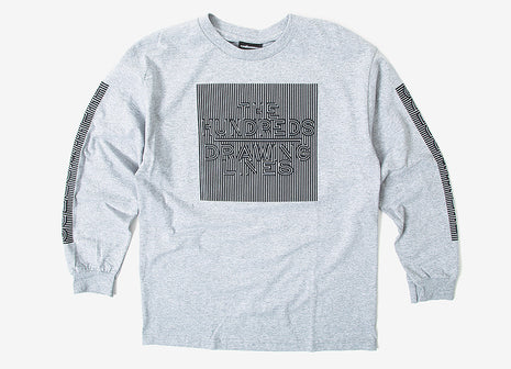 The Hundreds Line Works L/S T Shirt - Grey