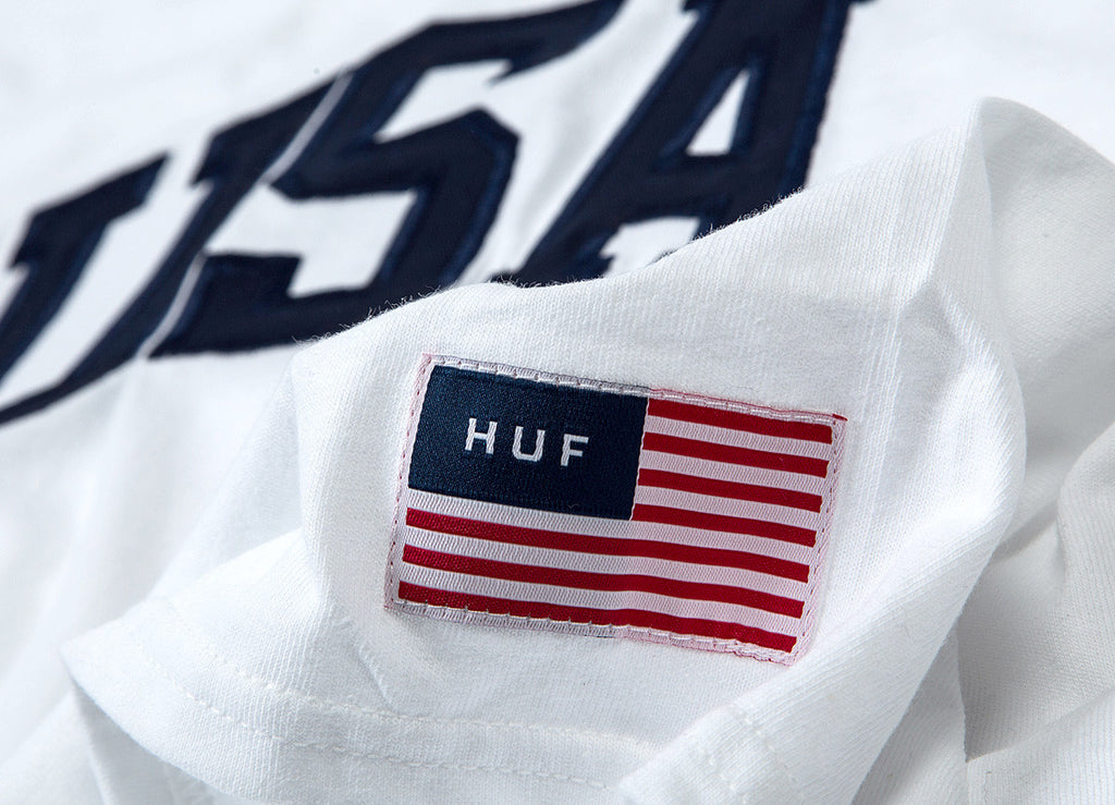 HUF 4th Of July T Shirt - White