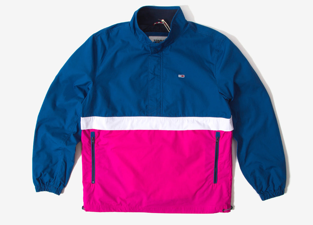 96be9fcdfc2 Tommy Jeans Lightweight Colorblock Popover Jacket | Tommy Jeans Jackets |  The Chimp Store