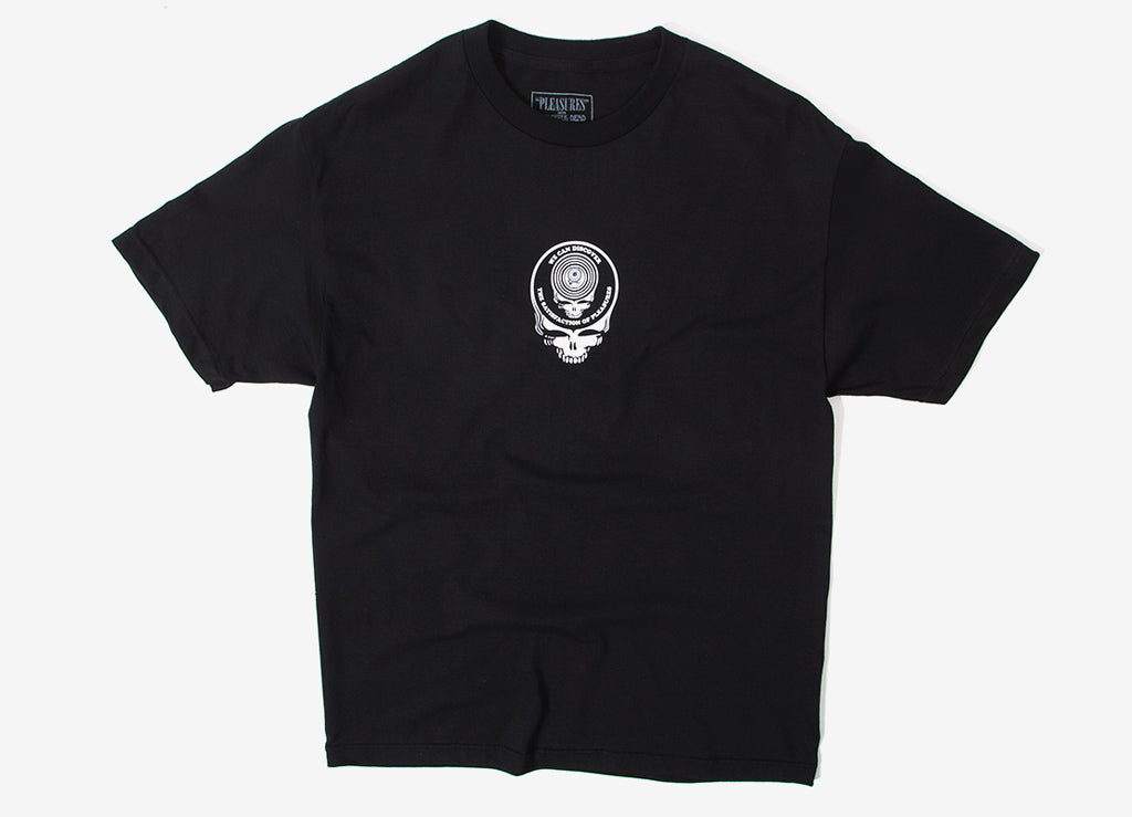 Pleasures Grateful Dead Face T Shirt - Black