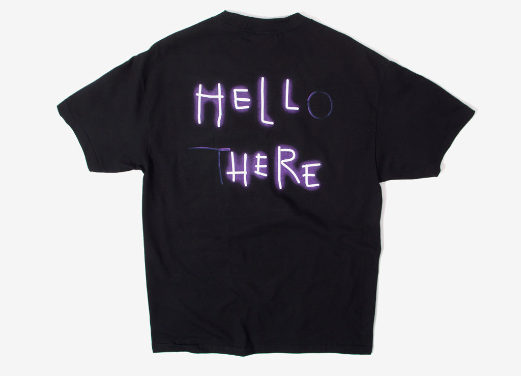The Hundreds Hello There T Shirt  - Black