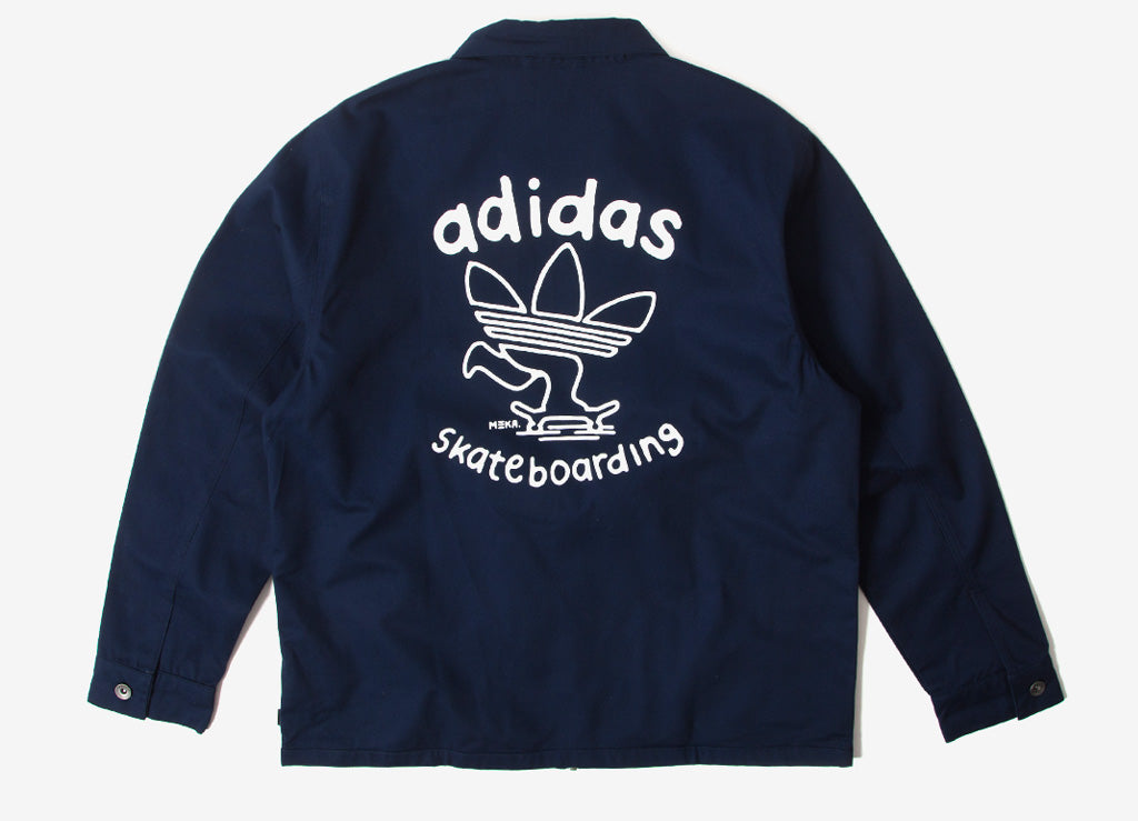 adidas Originals Ankeny Jacket - Collegiate Navy/White