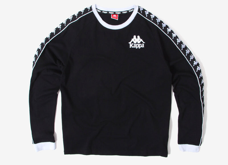 Kappa Dixon Authentic Sweatshirt - Black