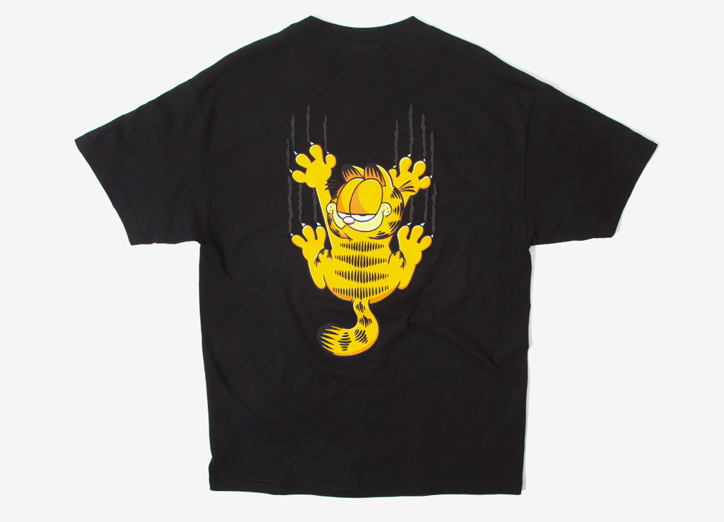 The Hundreds x Garfield Scratch T Shirt - Black