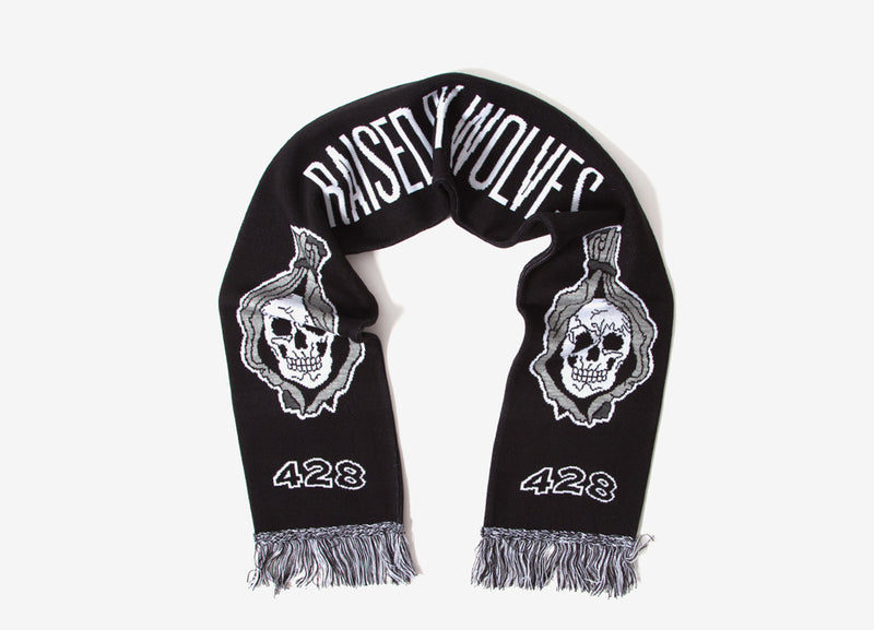 Raised By Wolves Ghost Squadron Scarf - Black