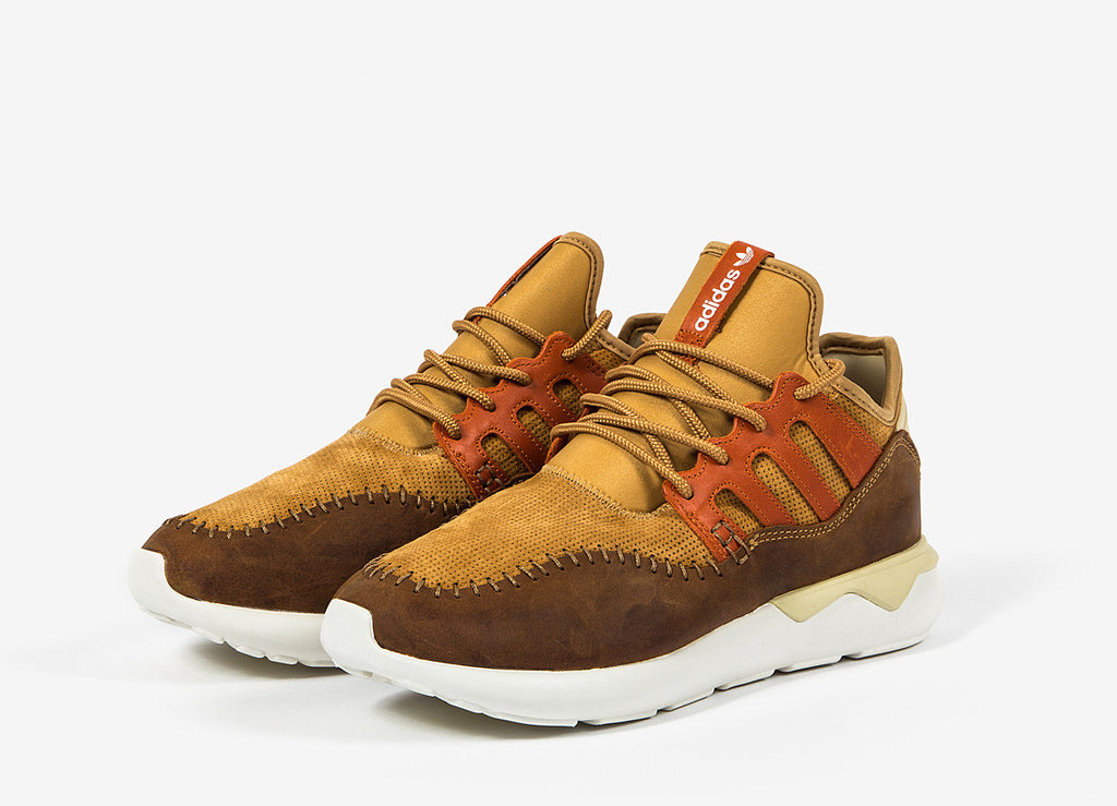 adidas Originals Tubular Moc Runner Shoes - Mesa/Fox Red