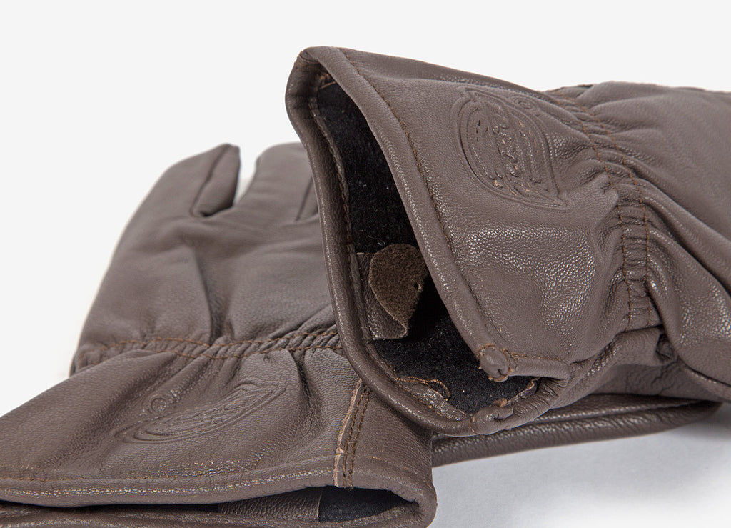 Dickies Memphis Leather Gloves - Brown