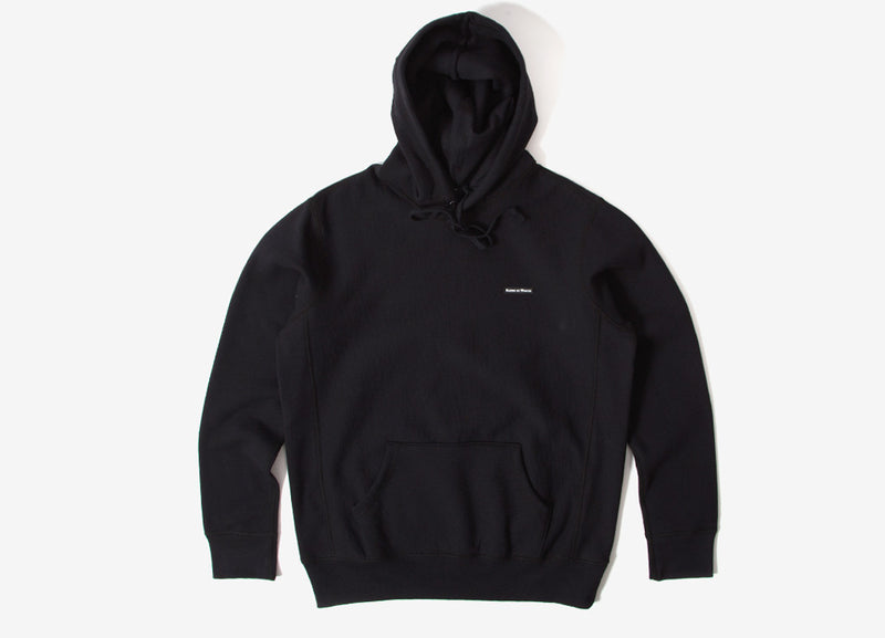 Raised By Wolves PVC Hoody - Black