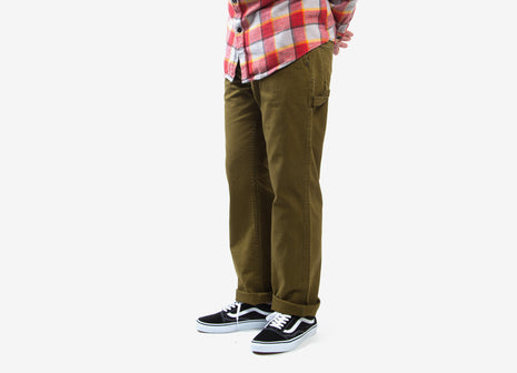 Brixton Fleet Rigid Carpenter Pant - Olive