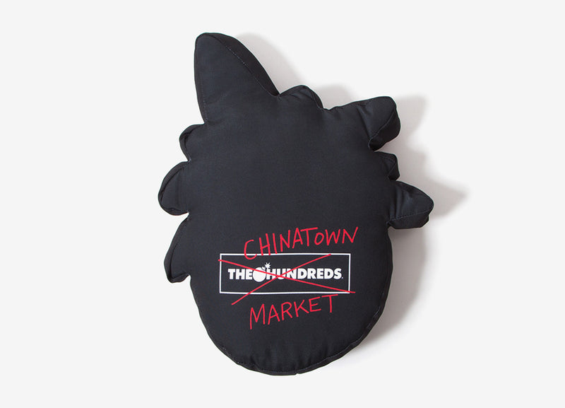 The Hundreds x Chinatown Market Happy Adam Pillow - Black