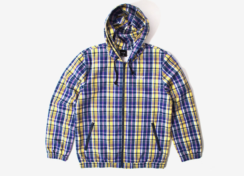 HUF Catalina Windbreaker Jacket - Insignia Blue