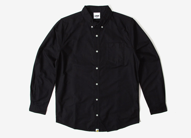 Chimp Premium Oxford Shirt - Black