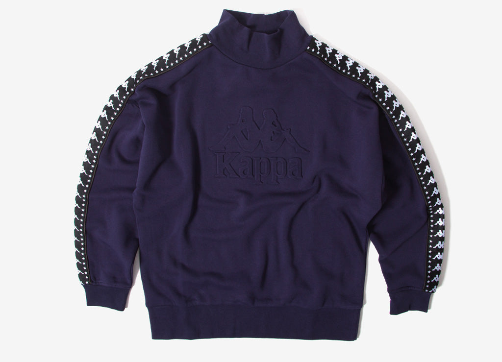 Kappa Alef Authentic Sweatshirt - Blue Greystone/Black