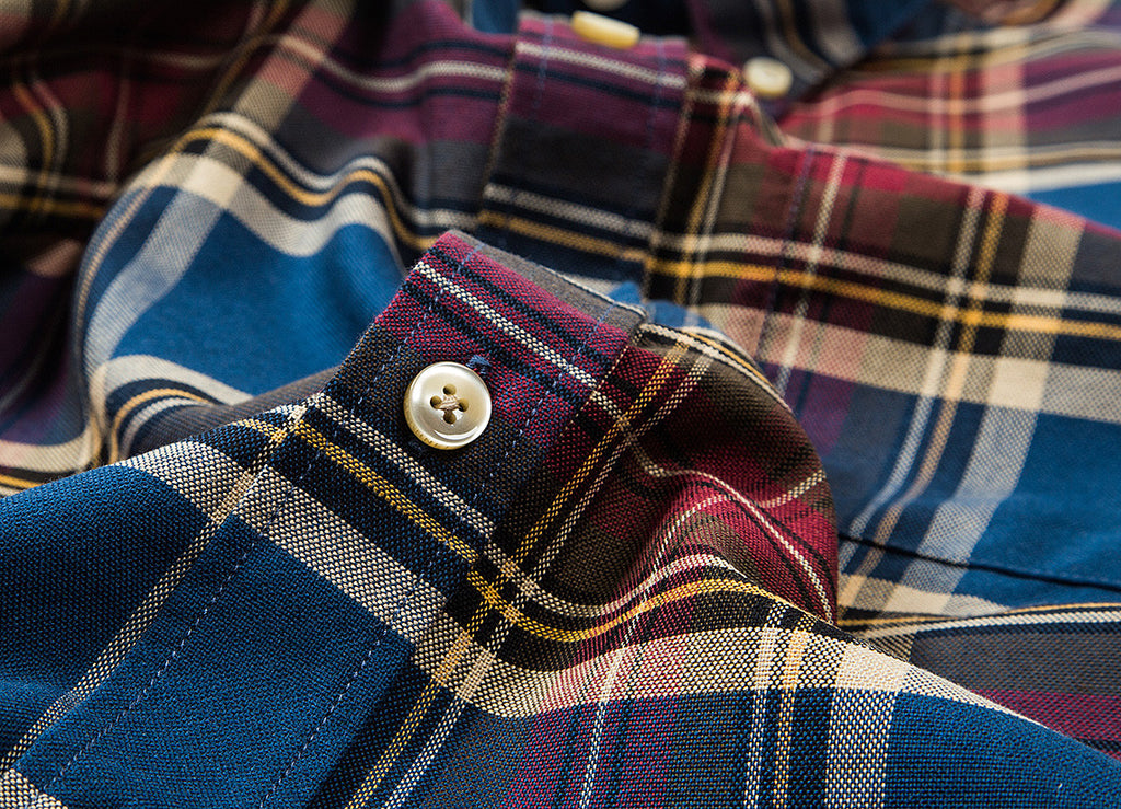 Portuguese Flannel Arjao Shirt - Deep Blue