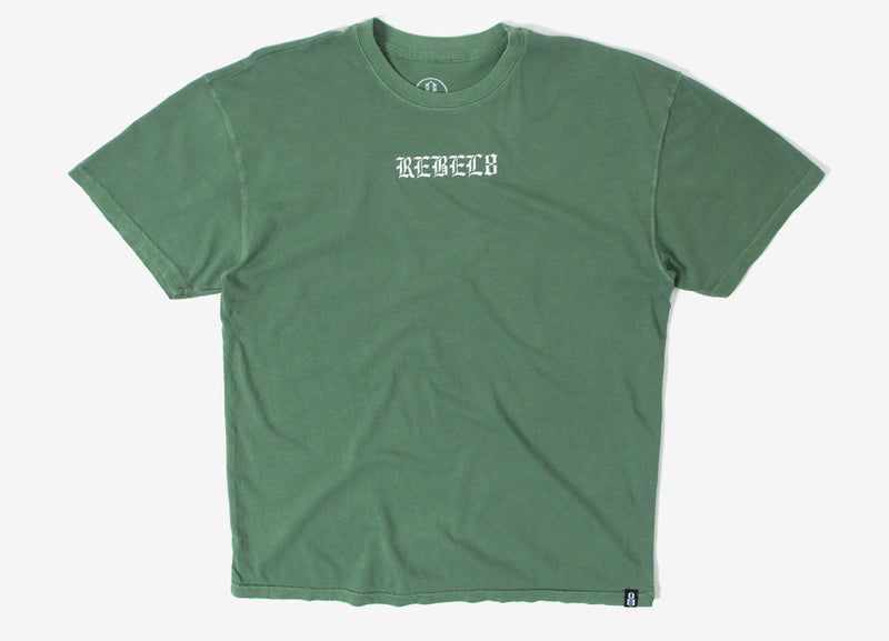 Rebel8 Displaced Premium T Shirt - Military