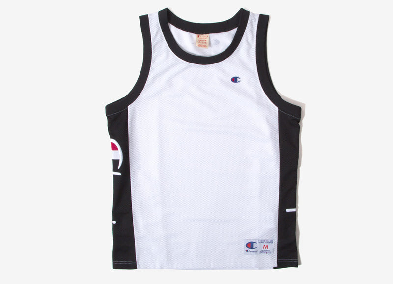 Champion Soft Technical Mesh Basketball Vest - White